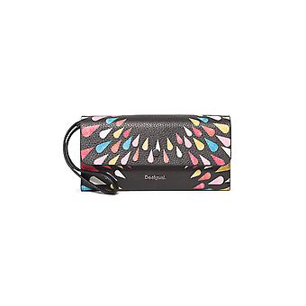 Desigual Women's Mone Tears Splatter Reversible Purse Wallet