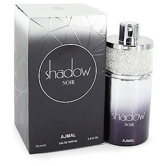 Ajmal shadow noir eau de parfum spray by ajmal 547784 75 ml