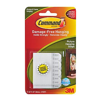Command Unisex Small Picture Damage Free Hanging Strips