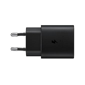 Samsung EP-TA800EBE Quick Charge Adapter 25W, USB-C Cable - Black