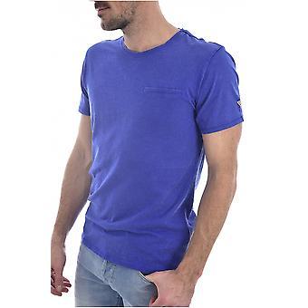 Tee shirt coton tramé POCKET  -  Guess jeans