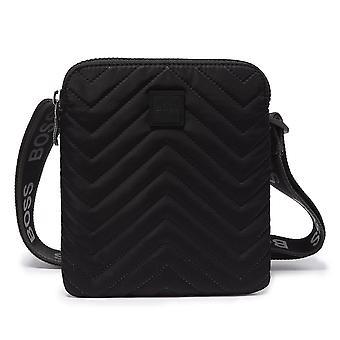 Hugo Boss | 50416724 Pixel Q Nylon Messenger Tasche - Schwarz