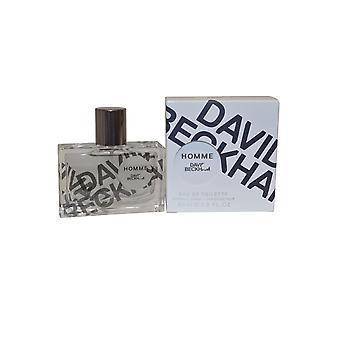 David Beckham Homme Eau de Toilette Spray 30ml
