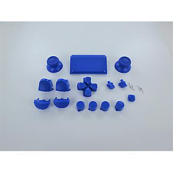 Full button set for ps4 pro sony controllers mod kit replacement repair kit - blue | zedlabz