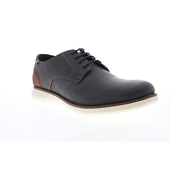 G.H. Bass Randell Wx  Mens Gray Leather Casual Oxfords Shoes