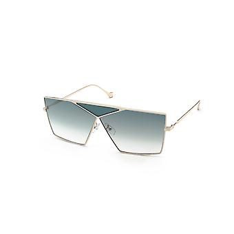 Loewe LW40011U 32W Gold/Turquoise-Sand Gradient Sunglasses