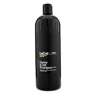 Label.m Honey & Oat Shampoo (lightweight Repair For Dry Dehydrated Hair) - 1000ml/33.8oz