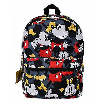 Mickey Mouse 16 Inch All Over Print Backpack