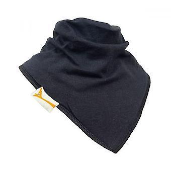 Babero bandana llano negro