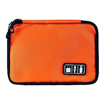 Laukku, säilytys johdot, elektroniikka - Oranssi