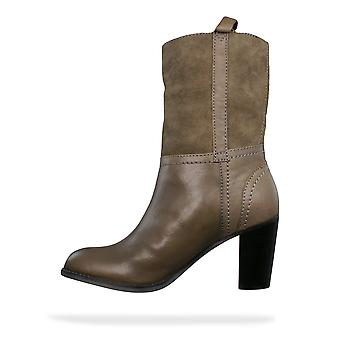 G-Star Raw Beauvoir Goncourt Womens Leather Boots - Grey