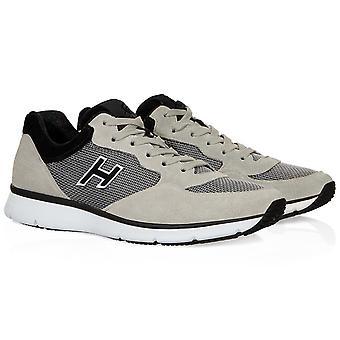 أحذية هوجان 20.15 التقليدية في جلد الغزال بيج