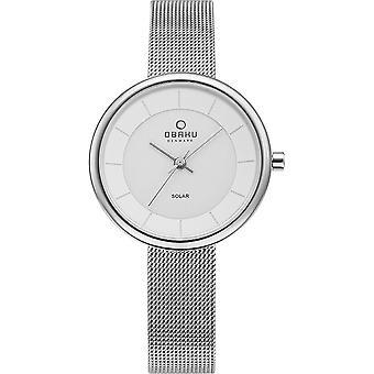 Obaku Lys Steel Women's Wristwatch V206LRCWMC