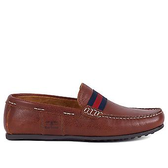 Barbour Men-apos;s Mansell Leather Loafers