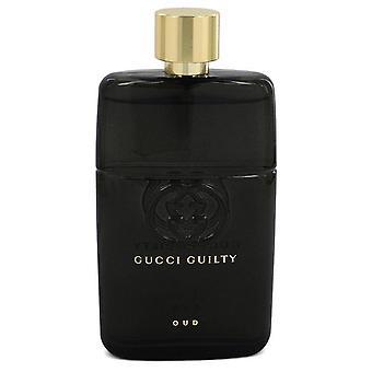 Gucci skyldig Oud Eau de Parfum spray (unisex tester) av Gucci 3 oz Eau de Parfum spray