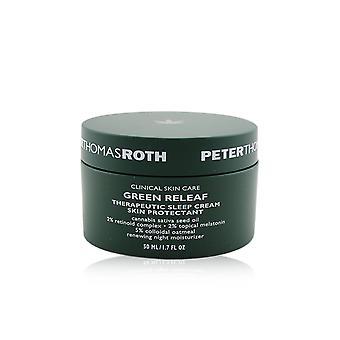 Green releaf therapeutic sleep cream skin protectant renewing night moisturizer 245941 50ml/1.7oz