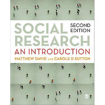 Social Research par Matthew David