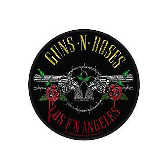 Coudre sur les Guns N Roses Patch, FN Los Angeles bande Logo nouveau officiel circulaire tissé