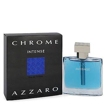 Chrome Intense Eau De Toilette Spray Par Azzaro 1.7 oz Eau De Toilette Spray