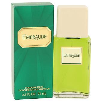 Emeraude Cologne Spray By Coty 2.5 oz Cologne Spray