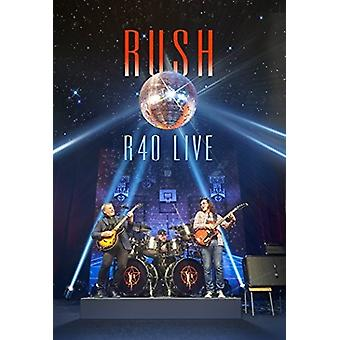 Rush - importation USA R40 Live [Blu-ray]