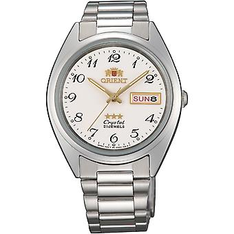 Orient 3 Star Watch FAB00003W9 - Stainless Steel Unisex Automatic Analogue