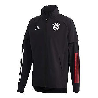 2020-2021 Bayern München Allweather Kabát (fekete)