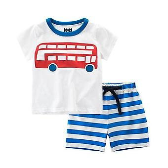 Boys Summer Boat T Shirt And Shorts, Infant