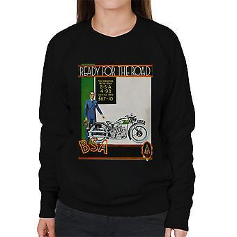 BSA Ready For The Road Women's Sweatshirt