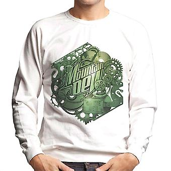 Mountain Dew Cogs Of A Soft Drink Men's Sweatshirt