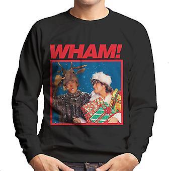 Wham! Snowy Christmas Men's Sweatshirt