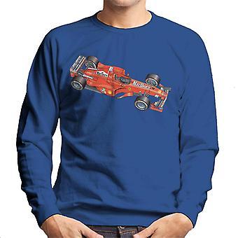 Motorsport Bilder Ferrari F399 Översikt Män & apos, s Sweatshirt