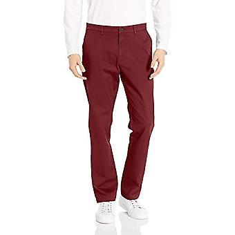 Merkki - Goodthreads Men's Athletic-Fit Pesty Comfort Stretch Chino Pant, Burgundy, 30W x 30L