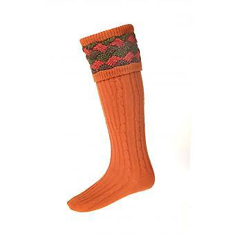 Haus der Cheviot Country Socken Lochnagar - Zimt