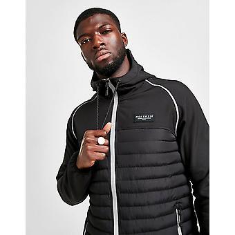 New McKenzie Men's Torrent Hybrid Jacket Black