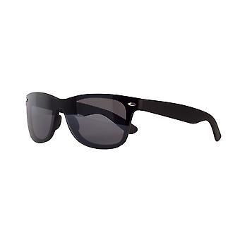 Sunglasses Unisex Cat.3 matt black smoke (AMU19212 A)