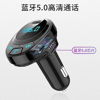 Dual USB Car Mounted Bluetooth MP3 Player Smart Car Charger MP3 Bluetooth 5.0 Support Pd18w Fast Charge