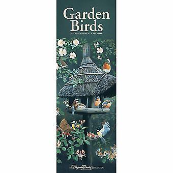 Otter House 2021 Slim Calendar-garden Birds
