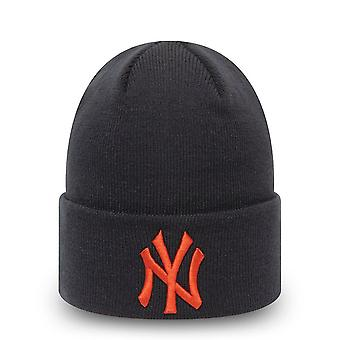 New Era Wintermütze Beanie - CUFF KNIT New York Yankees navy