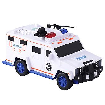 Piggy Bank Money Saving Box Safe Car Truck Plastic Password Toy