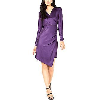 Palkki III | Nestemäinen kiilto wrap mekko