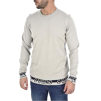 Guess Nat Logo Sweater - Grijs