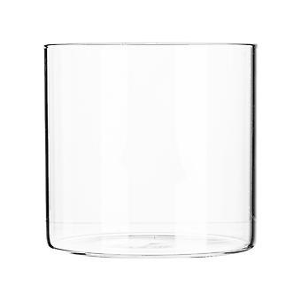 Argon Tableware Minimalistic Storage Jar - Round Scandinavian Style Versatile Glass Canister - 550ml