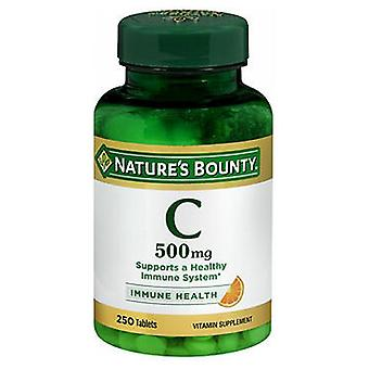 Nature's Bounty Pure Vitamin C, 500 mg, 250 tabs