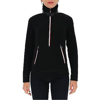 Moncler Grenoble 8g60080093999 Women's Black Wool Sweater