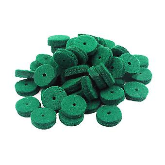 90PCS Piano Felt Balance Rail Punchings Keyboard Balance Washers Repair Parts