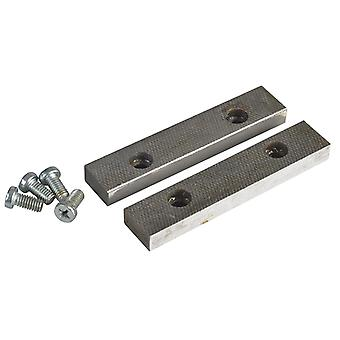 IRWIN Record PT.D Replacement Pair Jaws & Screws 125mm (5in) for 5 Vice RECPTD5