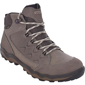 ECCO Womens Ulterra Gore-Tex GTX Outdoor Walking Hiking Boots - Warm Grey