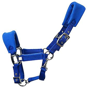 Double Layered Fleece Padded, Horse Halter, Practical Adjustable Strap,