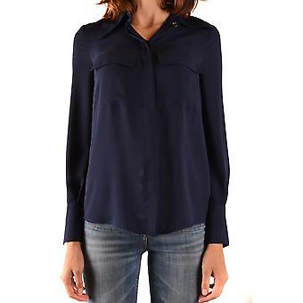 Elisabetta Franchi Ezbc050241 Women's Blue Polyester Shirt
